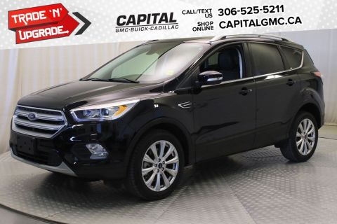 2018 Ford Escape Titanium 4WD*LEATHER*SUNROOF*NAV*