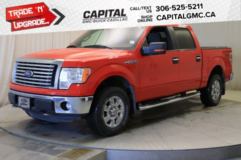 Pre-Owned 2011 Ford F-150 XLT SuperCrew *SUNROOF* 4WD SuperCrew Pickup