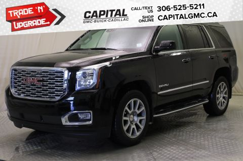 2018 GMC Yukon Denali 4WD*LEATHER*SUNROOF*NAV*