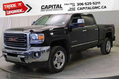 Certified Pre-Owned 2015 GMC Sierra 2500HD SLT Crew Cab *LEATHER*SUNROOF*NAV* 4WD Crew Cab Pickup