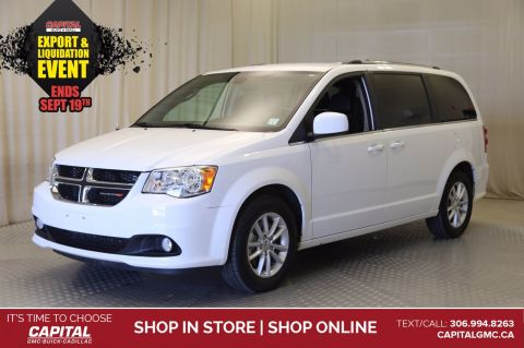 2019 Dodge Grand Caravan SXT Premium Plus*LEATHER*NAV*