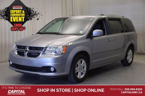 2019 Dodge Grand Caravan Crew Plus*LEATHER*NAV*DVD*