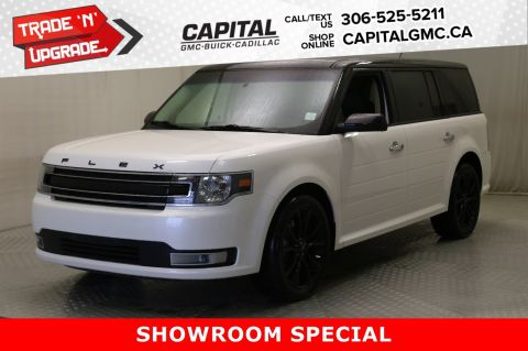 Certified Pre-Owned 2019 Ford Flex SEL AWD*LEATHER*SUNROOF*NAV* AWD SUV