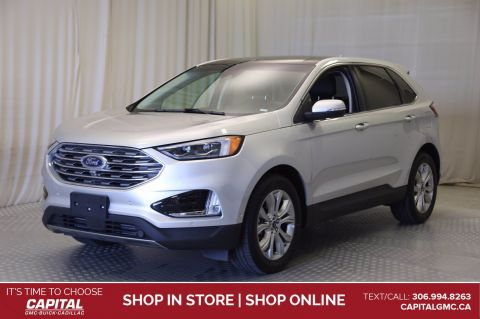 2019 Ford Edge Titanium AWD*LEATHER*SUNROOF*NAV*